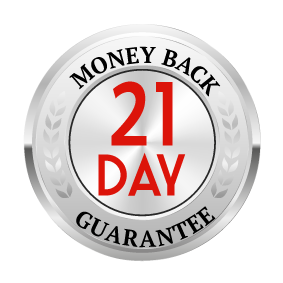 21 Day Money Back Guarantee